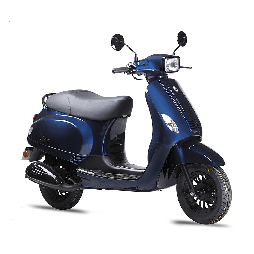 BTC scooter Riva Sport donkerblauw