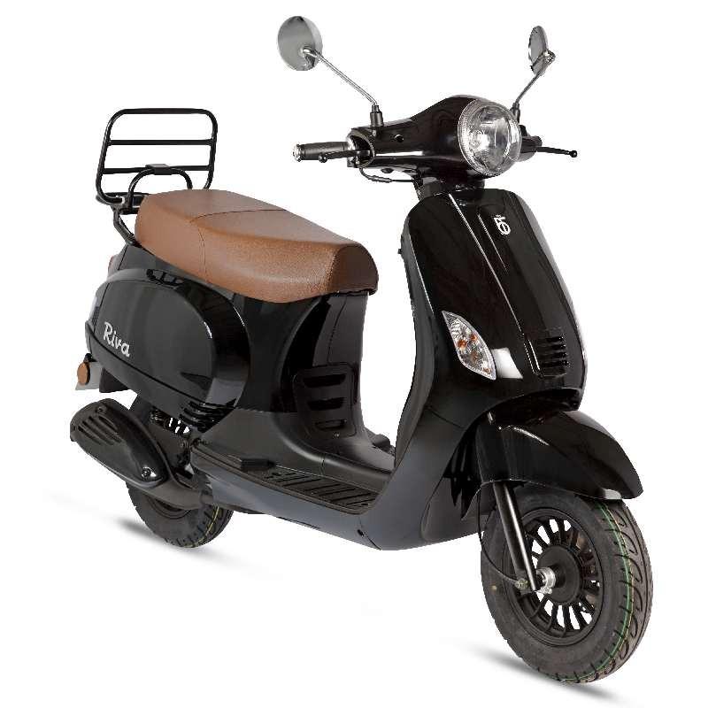 BTC Riva scooter zwart