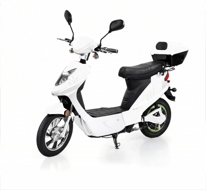 MPI Elektrische City Scooter Rome wit