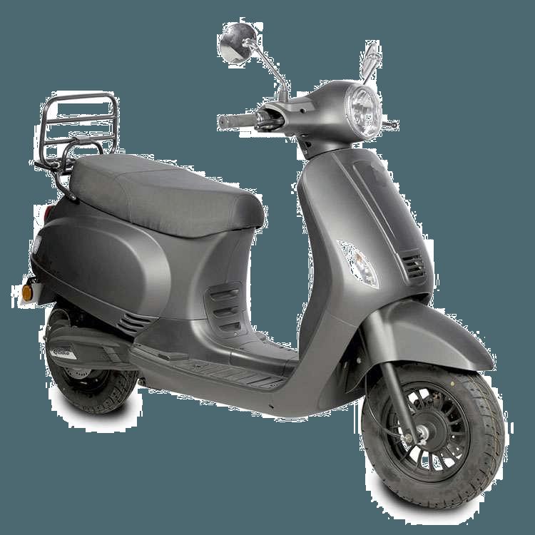 E-Rivalini scooter mat grijs