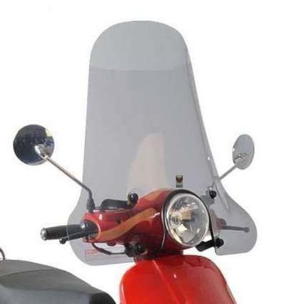 Isotta windscherm Hoog Smoke Riva scooter