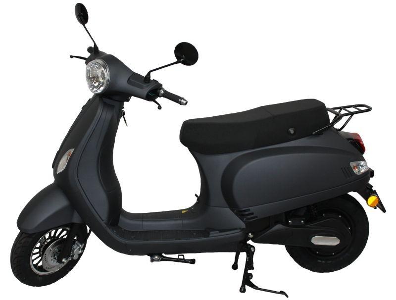 MPI Elektrische Scooter Vicenza – mat zwart