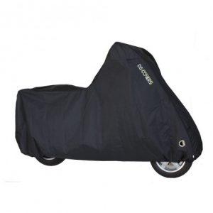 scooterhoes met windscherm maat L