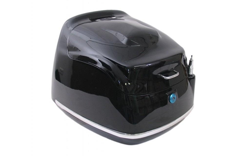 Topkoffer Retro zwart
