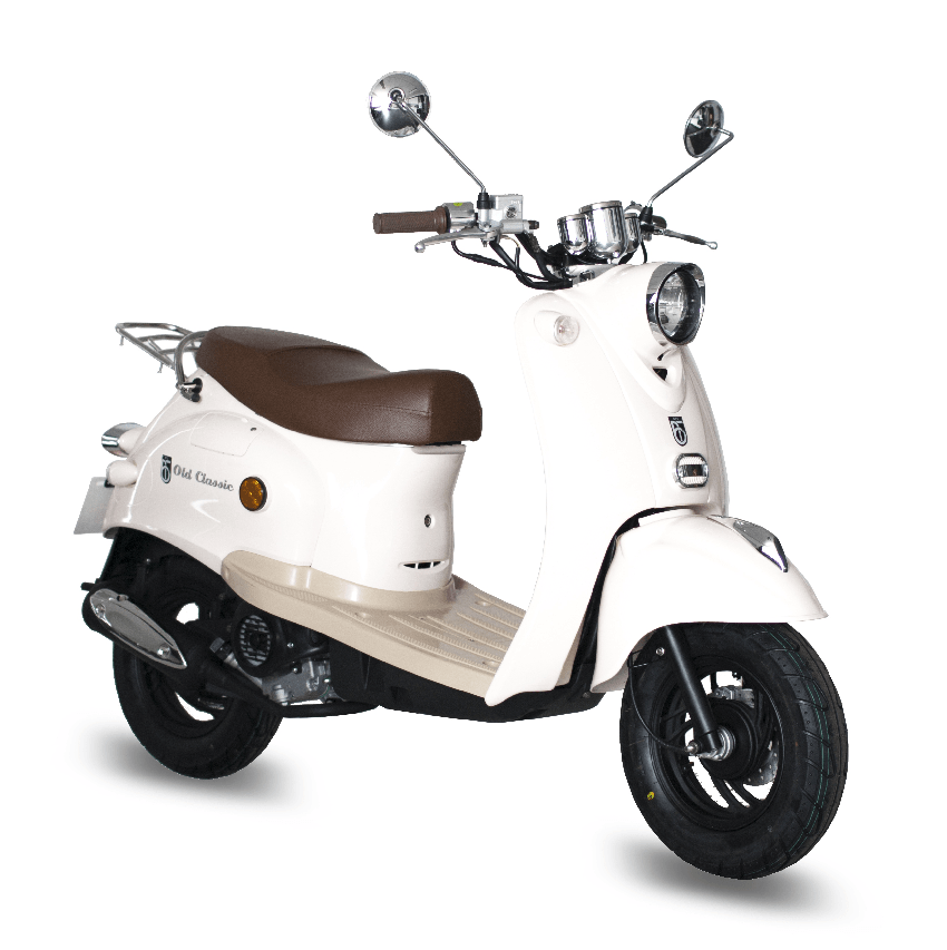 BTC scooter Old Classic creme_wit