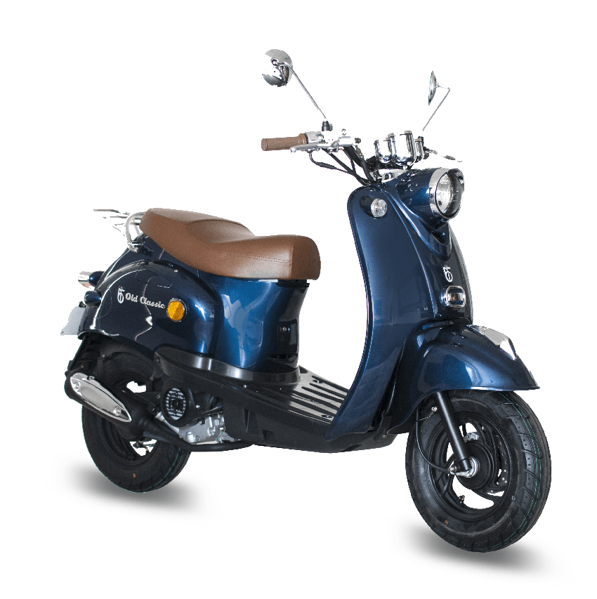 BTC scooter Old Classic donker_blauw