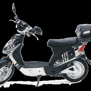 City Valencia scooter zwart-zilver