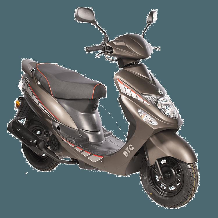 City scooter BTC mat-bruin