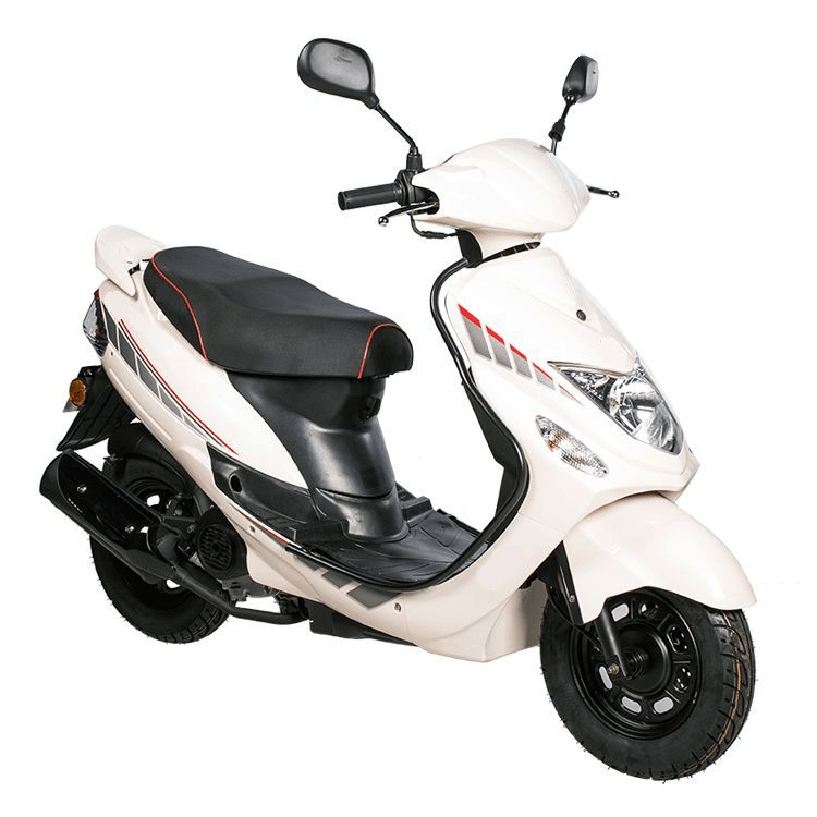 BTC City scooter EURO4 – wit