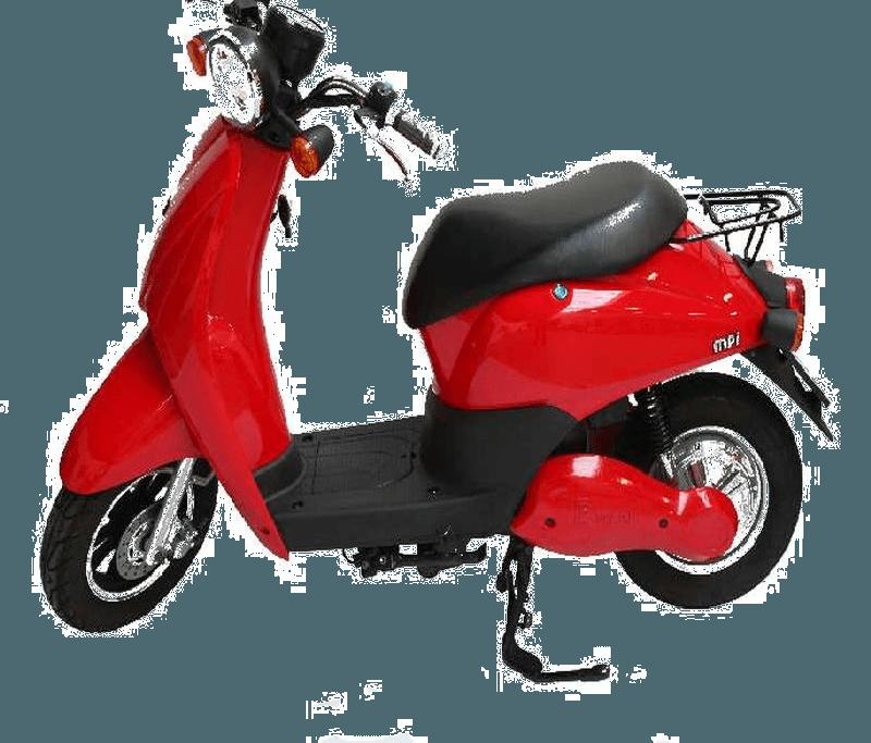MPI Elektrische City Scooter Paris Ferrari-rood