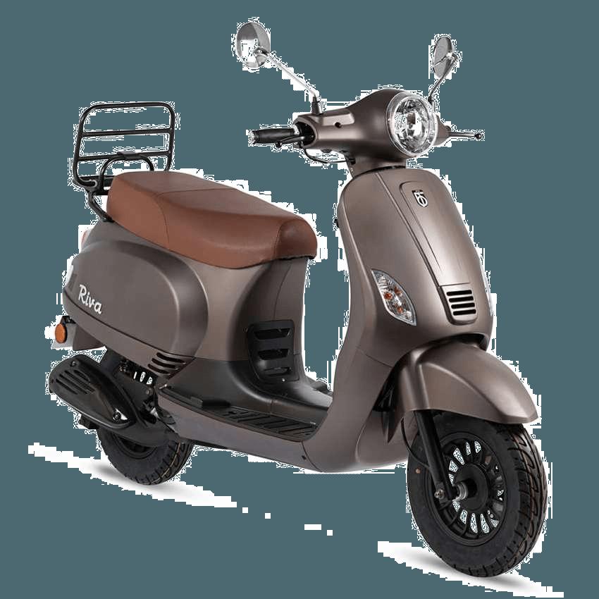 Riva scooter mat bruin