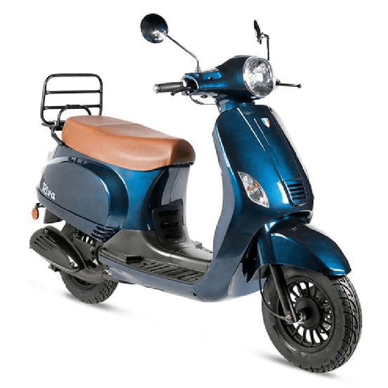 BTC Riva benzine scooter EURO4 – donkerblauw
