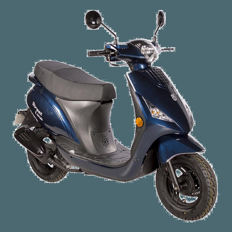Streetline BTC scooter donkerblauw