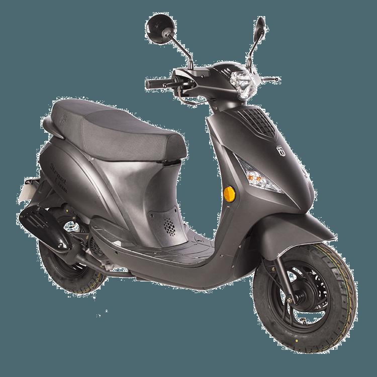 Streetline BTC scooter matzwart