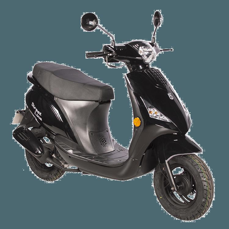 Streetline BTC scooter zwart