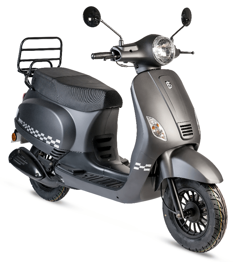 btc riva scooter mat zwart