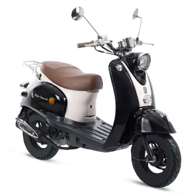 BTC scooter Old Classic zwart_wit std