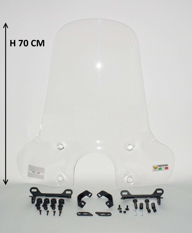 Isotta windscherm Hoog Transparant BTC CEO