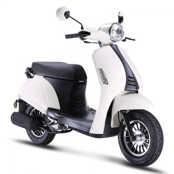 BTC Riva2 scooter wit