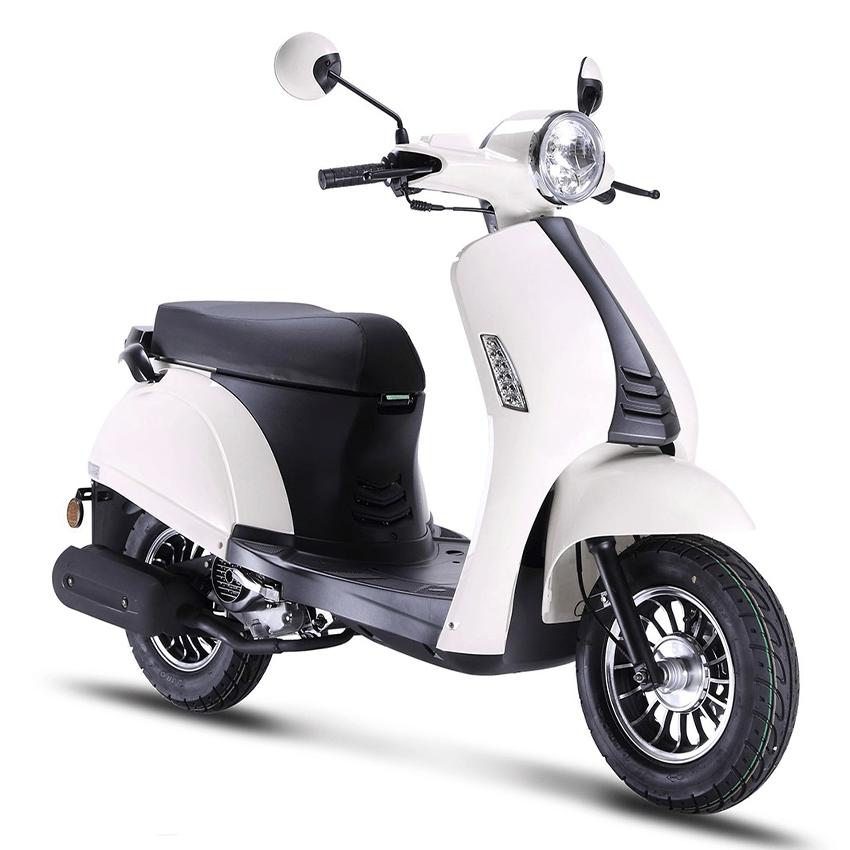 BTC Riva2 benzine scooter EURO4 – wit