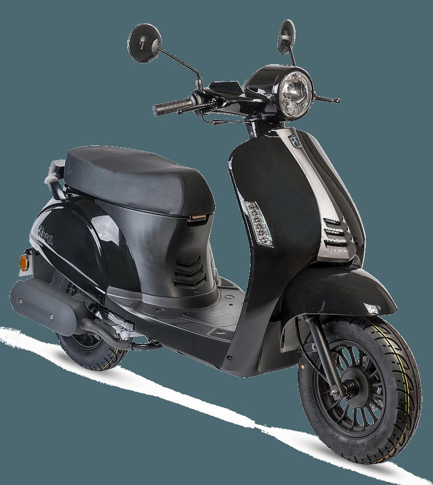 BTC Riva2 benzine scooter EURO4 – zwart