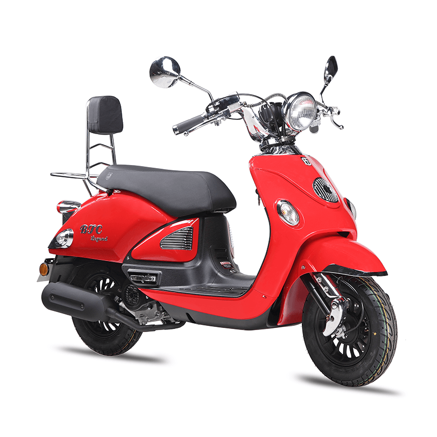 BTC Legend Euro4 scooter – rood