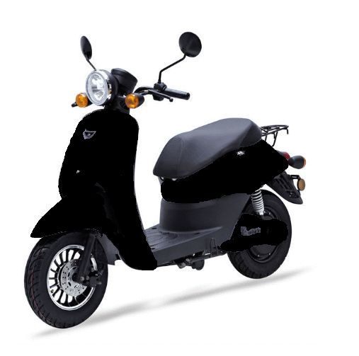 MPI Elektrische City Scooter Paris Zwart
