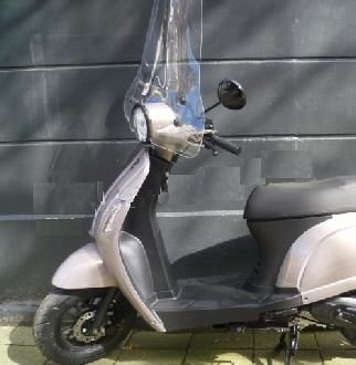Riva2 met hoog windscherm