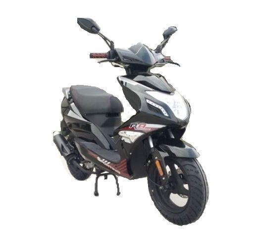 BTC R8 benzine scooter EURO4 – zwart