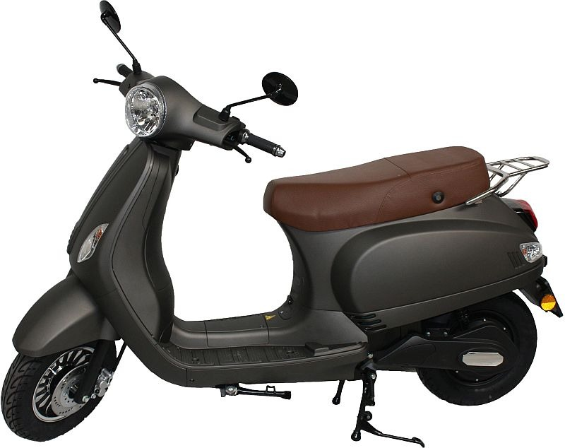 MPI Elektrische Vicenza Scooter – mat bruin (titanium)