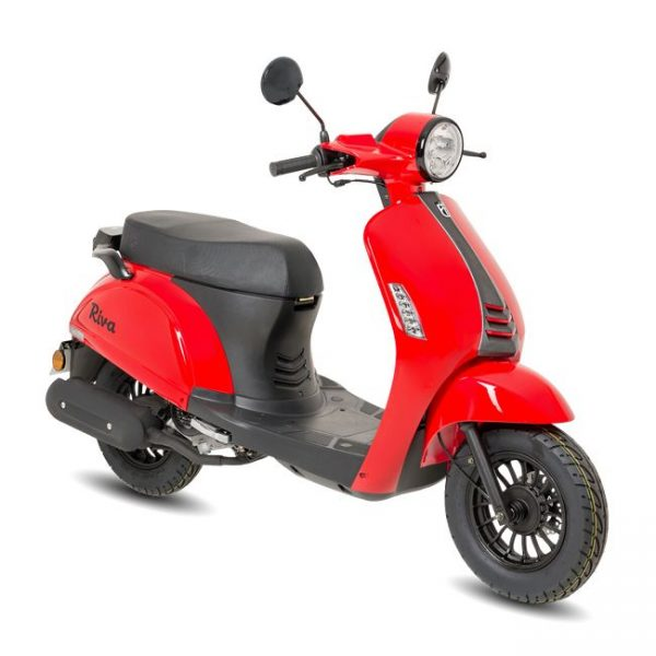 BTC Riva2 scooter rood