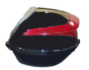 topkoffer 36 ltr zwart